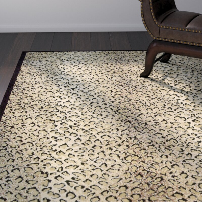 Amazing Leopard Print Area Rug Part - 8: Sana Animal Print Area Rug