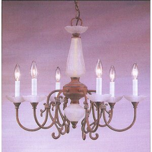 Bloomington 6-Light Candle-Style Chandelier