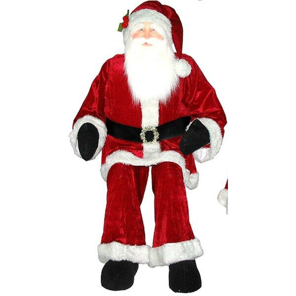 Christmas Decorations Life Size Santa: Vickerman Huge Life Sized Sitting Or Standing Decorative