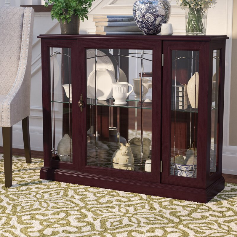 Search Results For Lighted Console Curio Cabinets