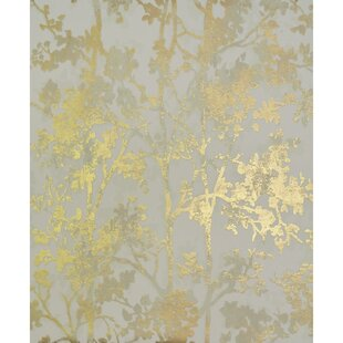 gold wallpaper you ll love wayfair