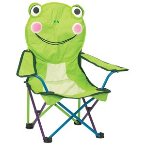 Freddy the Frog Kids Beach Chair by Pacific Play Tents