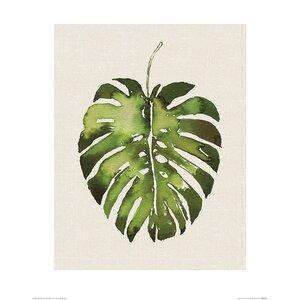 'Tropical Leaf I' Painting Print