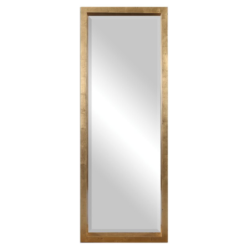Uttermost edmonton full length wall mirror reviews wayfair for Full length wall mirror