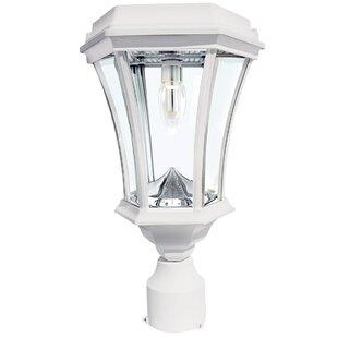 Almonte Victorian Bulb Solar 1 Light Lantern Head