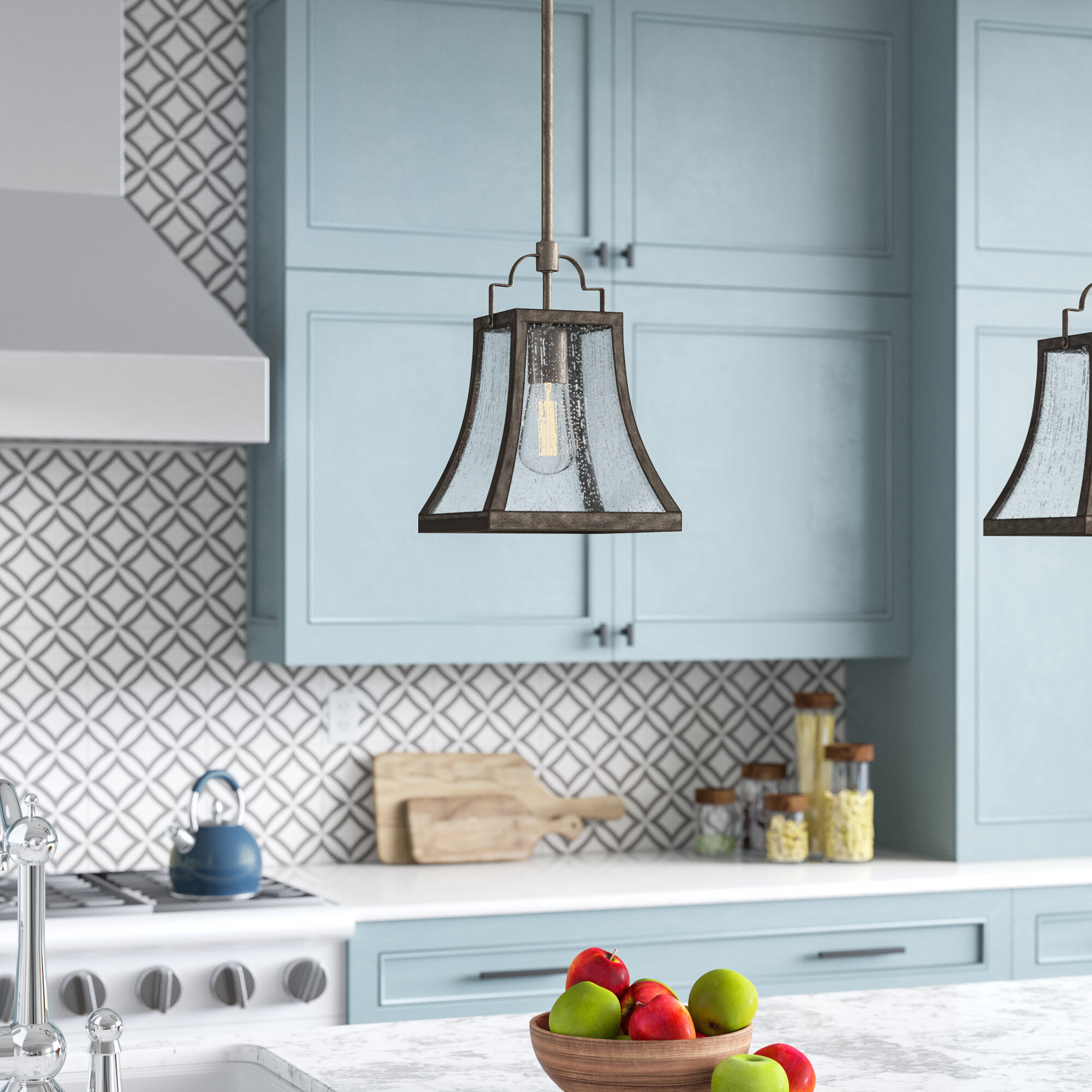 Birch Lane™ Hawkesbury 1-Light Lantern Pendant & Reviews | Birch Lane