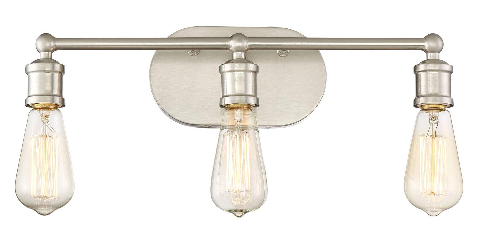 Laurel Foundry Modern Farmhouse Agave 3-Light Vanity Light