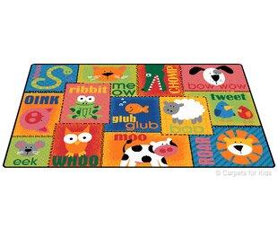 Emerado Animal Sounds Toddler Area Rug