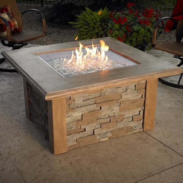 Gas Fire Pit Coffee Table | Wayfair