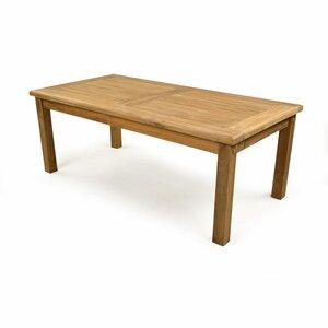 Rectangular Teak Coffee Table