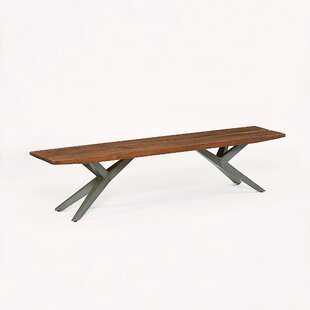 Jimena Wood Bench