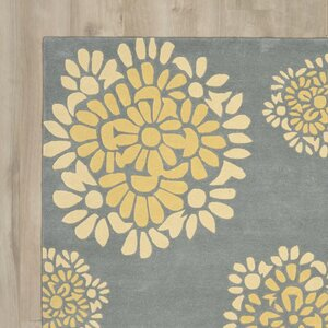 Martha Stewart Hand-Tufted Cement Area Rug