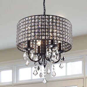 Bathroom Chandeliers Black mini or small chandeliers you'll love