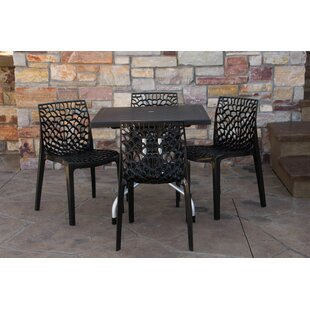 Belham Living Outdoor Dining Table on Belham Living Capri Wrought Iron Outdoor Bistro Set By Woodard id=62334