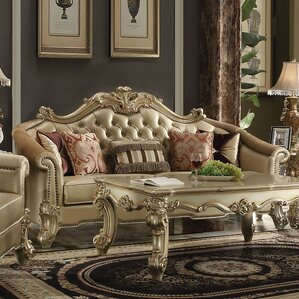reimann leather sofa