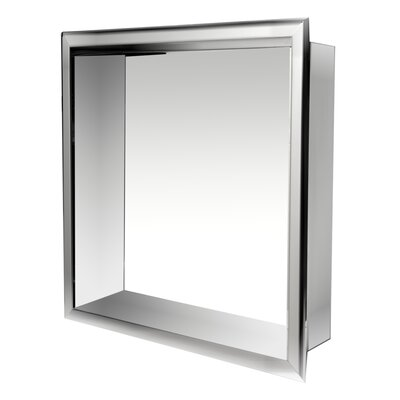 Bon Square Stainless Steel Single Shower Niche