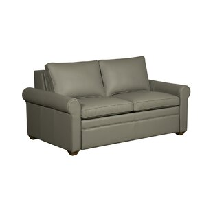 Kipling Leather Sleeper Sofa