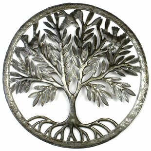 Tree Of Life In Ring Wall Décor