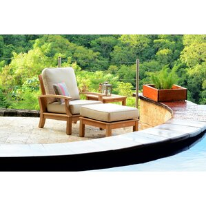 Teak Patio Lounge Chairs Youll Love Wayfair - Teak deep seating patio furniture