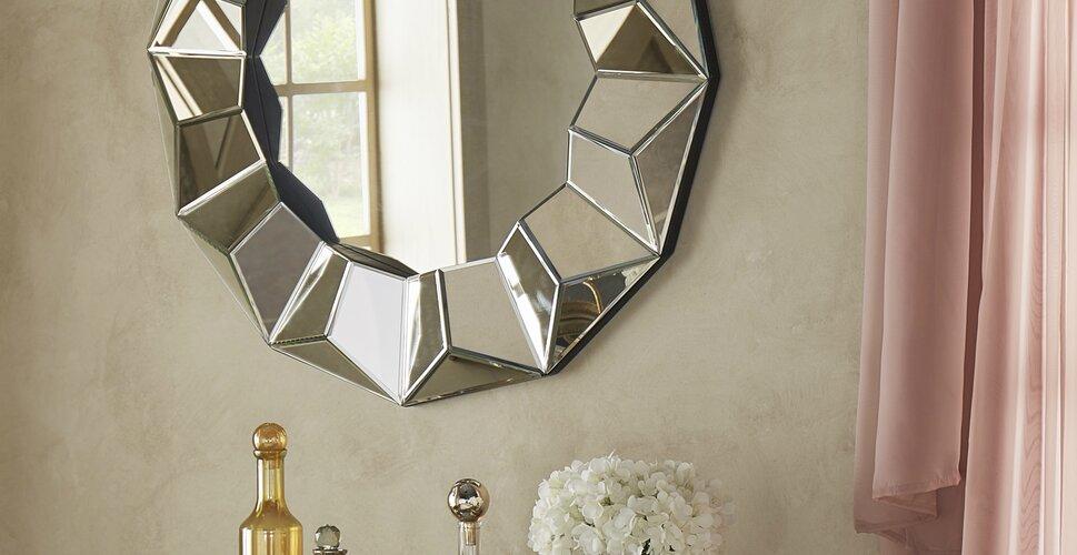 Glam Mirrors. Bathroom Mirrors You ll Love   Wayfair