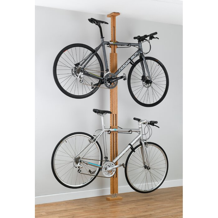 il ca industrial bycicle listing rack bike
