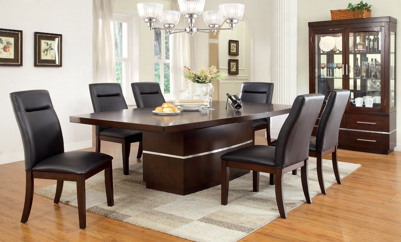 Captivating Feagin 7 Piece Dining Set