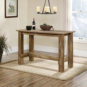 Rustic Farmhouse Dining Room Table rustic & farmhouse tables you'll love | wayfair