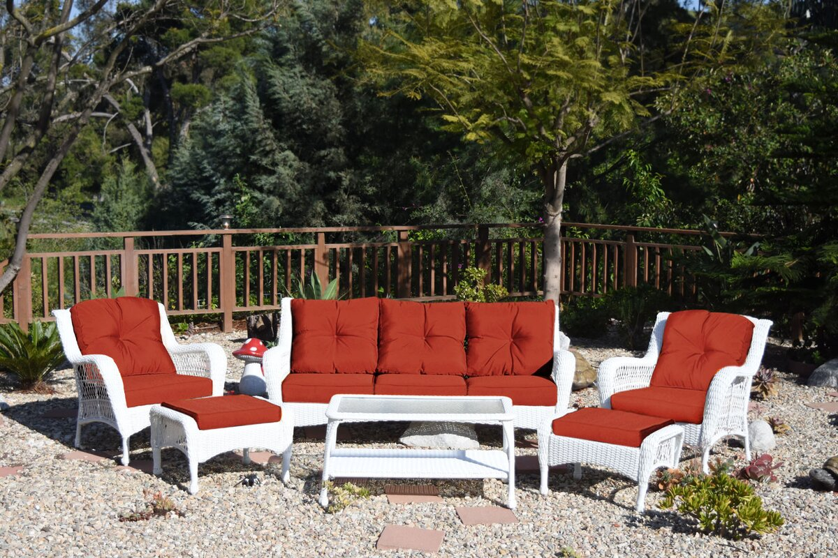 Darby Home Co Herrin 6 Piece Sofa Set With Cushions