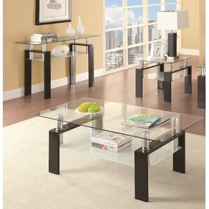 Tiffany 3 Piece Coffee Table Set