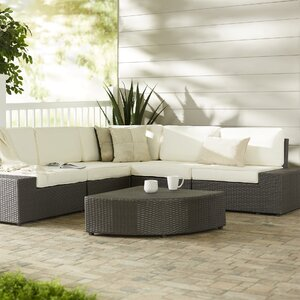 Sirmans 6 Piece Sectional Set with Cushions