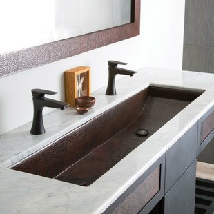 Trough Sink With 2 Faucets Wayfair