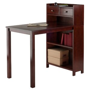 Tyler Table with Storage Shelf by Luxury Home