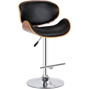 Adjustable Height Swivel Bar Stool by Creative Images International