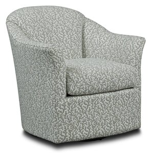 Tub Style Swivel Barrel Chair by Fairfield Chair
