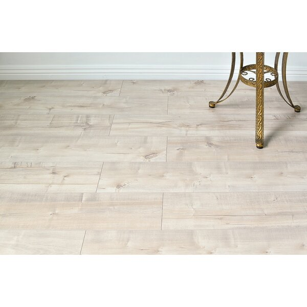 Serradon Dombrowski 8 X 48 X 12mm Maple Laminate Flooring In