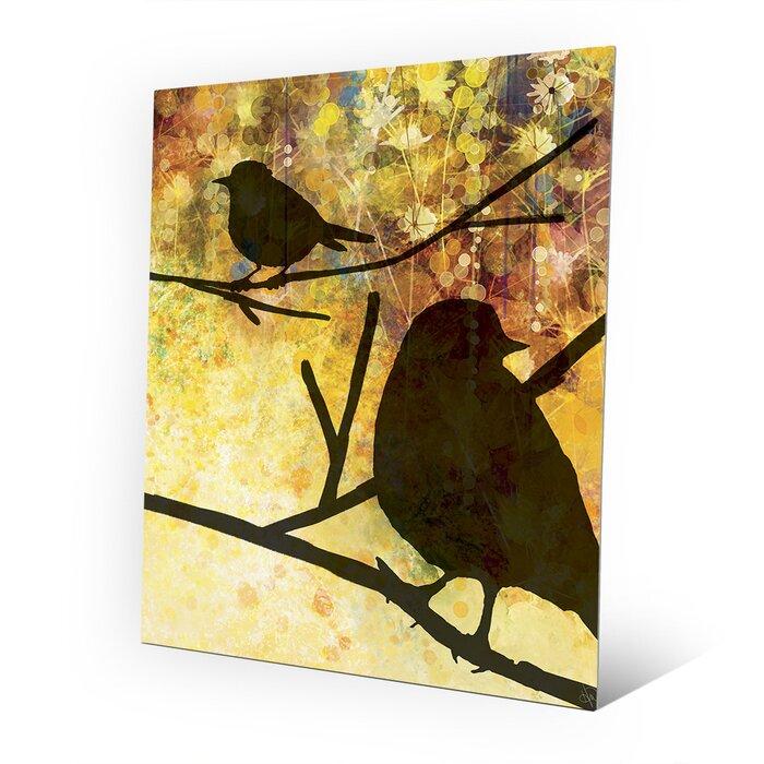 Famous Flock Of Birds Metal Wall Art Sketch - Art & Wall Decor ...