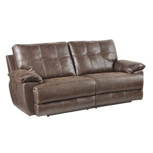 Lucio Reclining Loveseat by Williston Forge