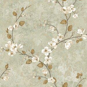 York wallcoverings charlotte dogwood 33 39 l x 20 5 w - Wallpaper store charlotte nc ...