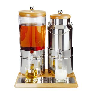 Wood Duo Top Fresh 6 L Beverage Dispenser by APS