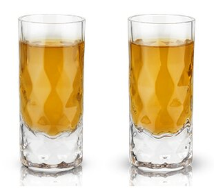 9faa44a45b3 Raye™ Gem Crystal 2 oz. Shot Glass (Set of 2)