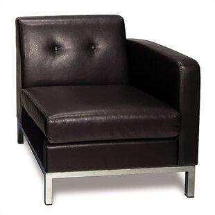 Superieur Leather Library Chair   Wayfair