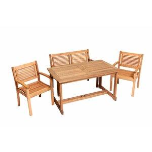 4-Sitzer Gartengarnitur Hannes von Kampen Living