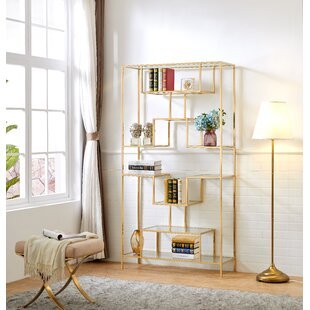 Lawrence Hill Tall Etagere Bookcase