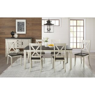 Ridgley 7 Piece Extendable Solid Wood Dining Set