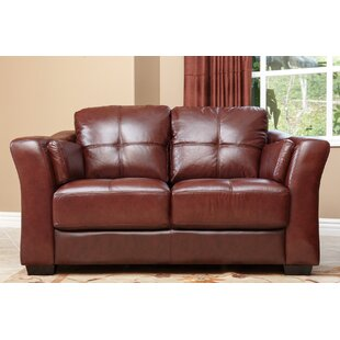 Franklintown Leather Loveseat