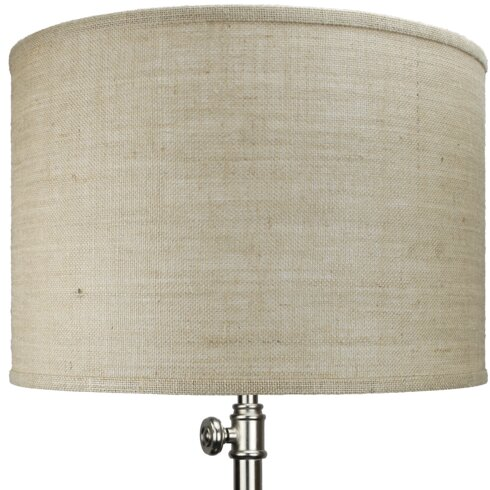 Fenchel shades 18 burlap drum lamp shade wayfair 18 burlap drum lamp shade aloadofball Choice Image