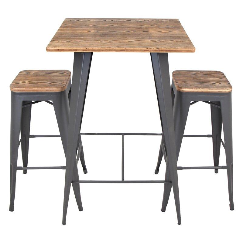 Trent austin design claremont 3 piece pub table set for Cie publication 85 table 2
