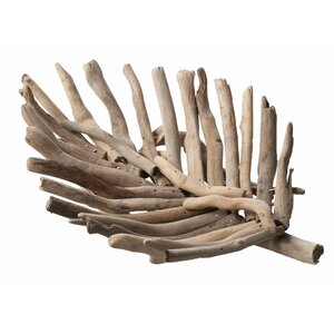 Rangeley Driftwood Leaf Accent Tray