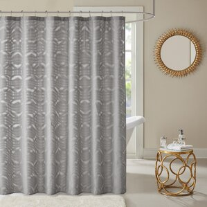 Dorian Geometric Shower Curtain