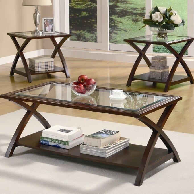 3 piece living room table sets. Beyers 3 Piece Coffee Table Set Sets You ll Love  Wayfair